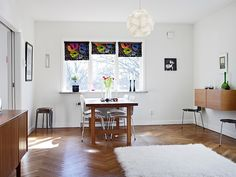 You know how much we love Swedish interiors here at desire to inspire. So how about another one to...