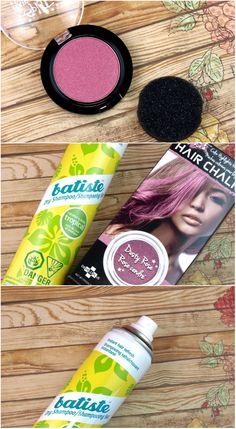 Summer Hair Essentials featuring Batiste Dry Shampoo and Splat Hair Chalk