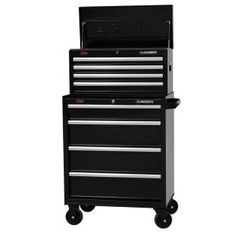 Husky, 27 in. W 8-Drawer Tool Chest and Cabinet Set, H4CH1 + H4TR1 at The Home Depot - Mobile