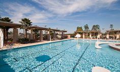 University of South Alabama Rec Center pool resort.