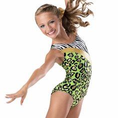 Multi Animal Print Girls Gymnastics Leotard | Leotards And More