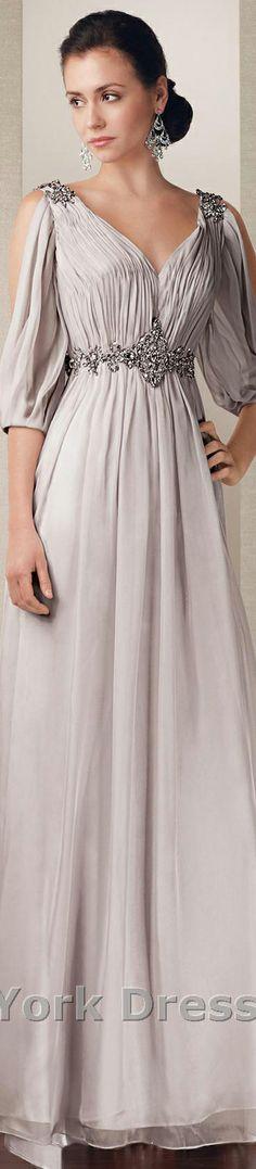 Alyce Paris design #elegant #gray #large #formal #dress