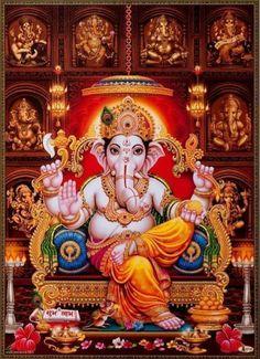 Ganesh Lord, Shri Ganesh, Ganesha Art, Hanuman, Ganesh Chaturthi Photos, Happy Ganesh Chaturthi Images, Ganesha Pictures, Ganesh Images, Shree Ram Images