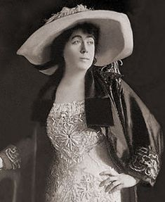 """Society maven Mrs. J.J. """"Molly"""" Brown was one of many fellow celebrities who sailed with the Duff Gordons aboard the Titanic"""