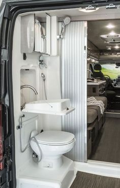 Interior Design Ideas For Camper Van Organization19