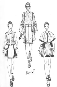 Vikki Yau Fashion Illustration - Fashionary Sketches