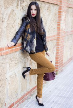 A Perfect Layering Clothing Piece For This season Fur Vest