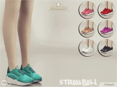 Madlen Stromboli Shoes New running shoes for your sim. Come in 7 colours. You cannot change the mesh, but feel free to recolour it as long as you add original link in the description. If you can't see this creation in CAS, please update your game. If...