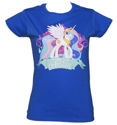 TruffleShuffle Ladies My Little Pony Friendship is Magic Princess Celestia is very important in the My Little Pony kingdom, alongside her younger sister, Princess Luna she is a co-ruler of Equestria and is responsible for raising the sun, moon, and stars. T http://www.comparestoreprices.co.uk/t-shirts/truffleshuffle-ladies-my-little-pony-friendship-is-magic.asp