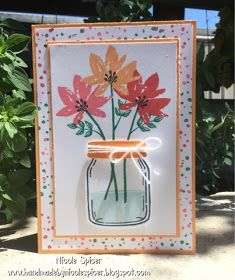 Hello! Welcome to my blog where I post my latest creations! Sometimes I make a card for blog challenges, or something will inspire me to ju...