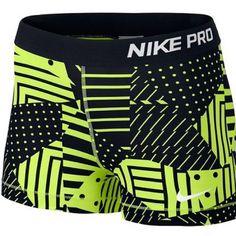 Nike Pro Training Patchwork Shorts New with tags never worn patchwork design Nike pro. Women's sizing Xs Nike Shorts