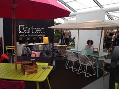 @fermob furniture and Ester & Erik candles on our stand at GROW London