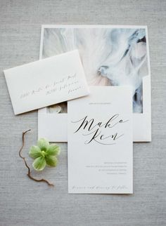 Wedding invitation: http://www.stylemepretty.com/2016/12/01/embrace-your-inner-ballerina-with-this-wedding-inspiration/ Photography: Greg Finck - http://www.gregfinck.com/