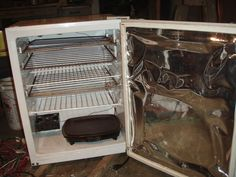 How to make a dehydrator out of an old fridge