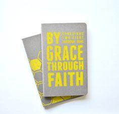 Bible Verse Journal / Ephesians / Notebook