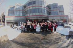 Team CADH celebrating Canada's Olympic successes . Go Canada Go! #proudcanadian #sochi2014 #goteamCanada