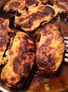 Stuffed eggplant recipes, Stuffed eggplant and Eggplant recipes on ...