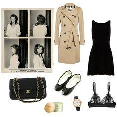 COFFEE BREAK Audrey Hepburn Little black dres