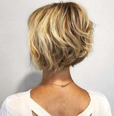 66 Chic Short Bob Hairstyles & Haircuts for Women in 2019 - Hairstyles Trends Bob Style Haircuts, Short Choppy Haircuts, Stacked Bob Hairstyles, New Short Hairstyles, Hairstyles Haircuts, Short Hair Cuts, Fashion Hairstyles, Pixie Cuts, Pretty Hairstyles