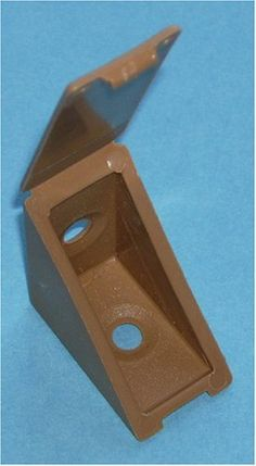 Tan Plastic Brace 12/pkg 11655T by Bmi. $8.00. Attach inside corners of shelves and conceal screw head at the same time. Use screws to install in desired location.