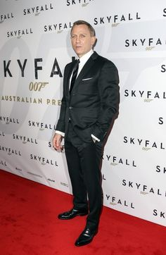 Daniel Craig attending the premiere of new James Bond film #Skyfall at the State Theatre in Sydney