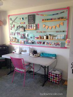 Três em Casa: Ideias para organizar seu atelier