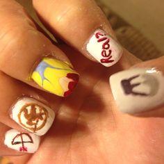 Hunger Games nails, thanks to Amanda!!!