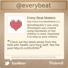 @everybeat's Twitter profile