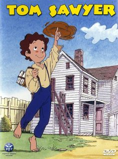 Tom Sawyer, c'est l'A-mé-ri-que 70s Cartoons, Classic Cartoons, Adventures Of Tom Sawyer, Masterpiece Theater, Old Anime, Kids Tv, Manga Characters, Cute Images, Sweet Memories