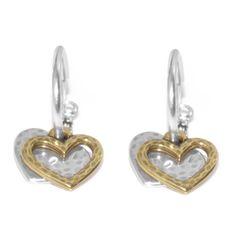 3d56d679b Danon jewellery, Danon Double Heart Hoop Earrings Jewelery, Sterling Silver  Earrings, Beaded Bracelets