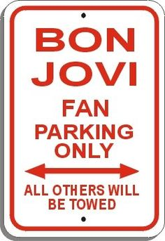Bon Jovi Fan Parking