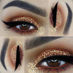 Aposte na maquiagem com glitter para o carnaval - Maquiando