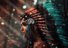 Indianerin by Markus Schänzle on 500px