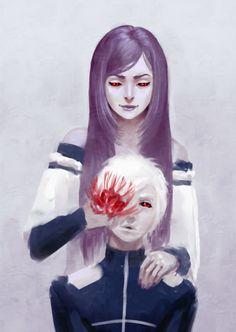 Rize and Kaneki // TG
