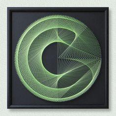 Wall Art Zen with UV effect 3D Modern Abstract String Art