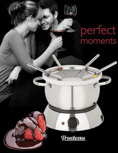 Sweepstakes ~ Win An Trudeau Electric #Fondue Set ~ CANADA only ( Ont & Que Only )  http://www.linkiescontestlinkies.com/2013/02/sweepstakes-win-trudeau-electric-fondue.html