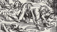 Werewolves and the Dog-headed Saint in the Middle Ages
