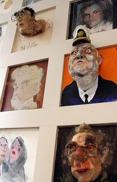 Ausstellung - Bilder & Ideen Artwork at Warehouse Bar & Grill - D. Sculpture Lessons, Sculpture Projects, Art Sculpture, 3d Art Projects, School Art Projects, High School Art, Middle School Art, High School Ceramics, Classe D'art