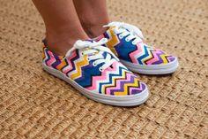 color your shoes!