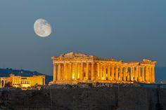 Parthenon temple, Acropolis