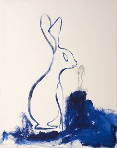 A kiss to a Hare - Tracey Emin