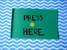 Press Here (based on book by Herve Tullet) Craft