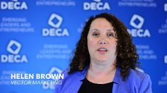 Why do companies like Vector Marketing like to hire DECA members? Watch and find out!