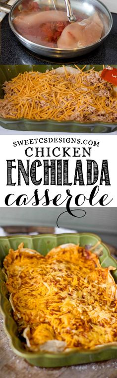 Enchilada Casserole- this is such an easy way to make this gluten-free favorite!