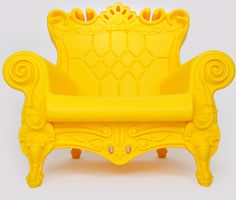 Queen of Love Armchair in Sunflower by Linvin