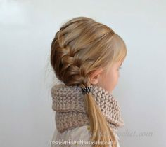 nice Cutest Hairstyles for your Little Girl in 2015 //  #hairstyle #hairstyle2015 #littlegirlshairstyle