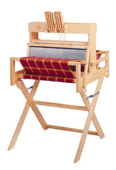 Portable Weaving Looms from Pacific Wool and Fiber