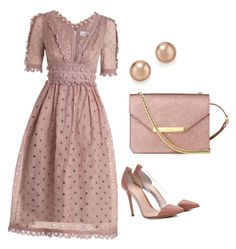 """""""Untitled #196"""" by tunnufn on Polyvore featuring Zimmermann, Bloomingdale's, L.K.Bennett and Gianvito Rossi"""