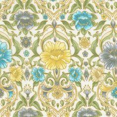 Robert Kaufman Fabrics: SRKM-15837-200 VINTAGE from Grand Majolica