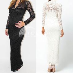 Womens Formal Party Full Lace Prom Gown Evening Cocktail Long Maxi Dress Fashion #Unbranded #Maxi #Formal